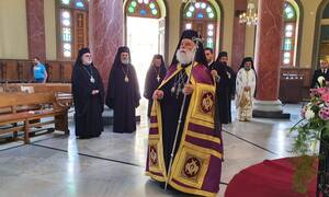 Κάιρο-Ι.Μ Αγ. Γεωργίου: Αποκαλυπτήρια της προτομής του ηγούμενου Αγαθάγγελου από τον Πατριάρχη