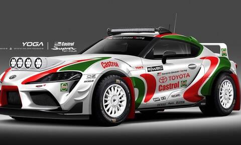 Τι προκύπτει όταν μια Toyota GR Supra συναντά μια Celica GT-Four του WRC στα χρώματα της Castrol;