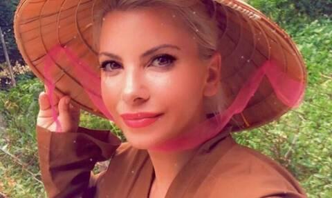 Αντελίνα Βαρθακούρη: Ο κήπος του σπιτιού της είναι σκέτος παράδεισος!Θα σαστίσεις με την ομορφιά του