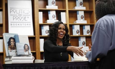 ΗΠΑ: Ντοκιμαντέρ η περιοδεία της Μισέλ Ομπάμα για το βιβλίο της Becoming