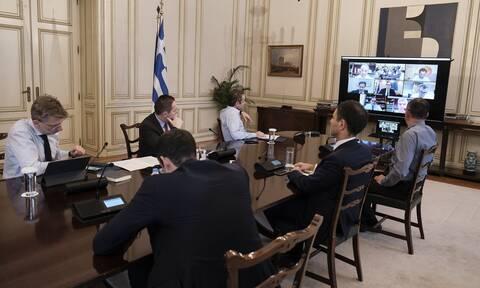 Άρση μέτρων: Οι υπουργοί παρουσίασαν το σχέδιο επιστροφής στην κανονικότητα