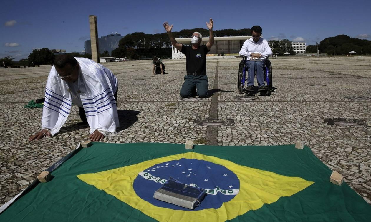 Κορονοϊός στη Βραζιλία: Ξεπέρασαν τους 5.000 οι νεκροί του ιού COVID-19