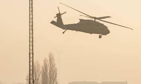 Αγνοείται ελικόπτερο του ΝΑΤΟ ανοιχτά της Κεφαλονιάς: Σε εξέλιξη έρευνες για τον εντοπισμό του