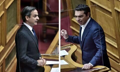 LIVE ΒΟΥΛΗ - Μητσοτάκης: «Δεν επιστρέφουμε στην τοξικότητα» - Τσίπρας: «Δεν έχεις λευκή επιταγή»
