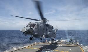 Минобороны Канады подтвердило пропажу своего вертолета у берегов Греции