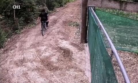 Έκανε βόλτα με το ποδήλατο - Έπαθε σοκ μ' αυτό που είδε να έρχεται κατά πάνω του (vid)