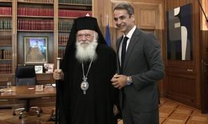 Κορονοϊός: Η επιστολή Ιερώνυμου στον Μητσοτάκη για το άνοιγμα των εκκλησιών (pics)