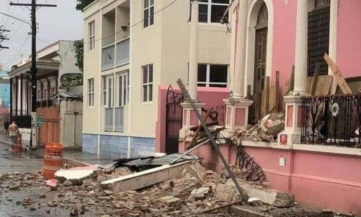 Σεισμός 5,5 Ρίχτερ «ταρακούνησε» το Πουέρτο Ρίκο -  Σοβαρές υλικές ζημιές σε κτήρια (vids)