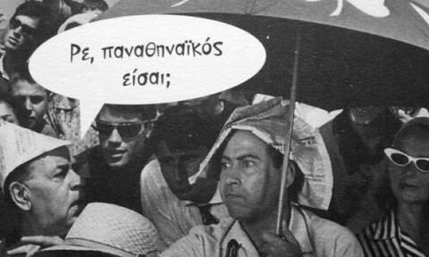 Ο μυθικός «καυγάς» του Βέγγου στο Παναθηναϊκός-Ολυμπιακός (video)
