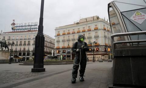 Κορονοϊός-Ισπανία: 164 νεκροί το τελευταίο 24ωρο
