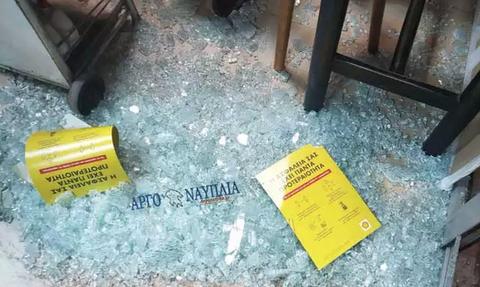 Άργος: Άγνωστοι έσπασαν βενζινάδικο και έκλεψαν τα πάντα (pics)