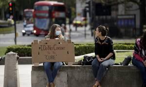 Κορονοϊός Βρετανία: 327 νέοι θάνατοι στα νοσοκομεία κατά το τελευταίο 24ωρο