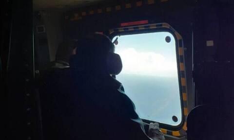 Βίντεο ντοκουμέντο: Η στιγμή που τουρκικά F-16 παρενοχλούν το ελικόπτερο του Παναγιωτόπουλου