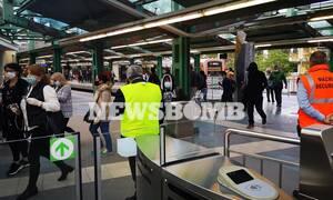 Άρση μέτρων: Αυτοψία Newsbomb.gr στα Μέσα Μεταφοράς - Όλοι με μάσκα, γάντια και σε απόσταση