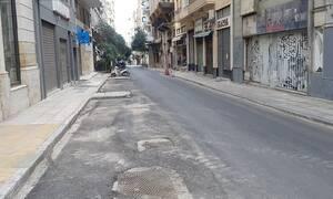 Άδεια Αθήνα: Εικόνες της πρωτεύουσας πριν την χαλάρωση των μέτρων
