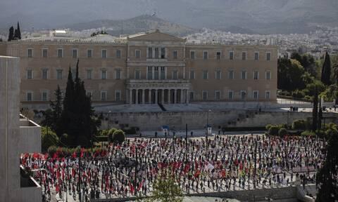Ερώτηση στη Βουλή για τη διαδήλωση του ΠΑΜΕ την Πρωτομαγιά κατέθεσε ο Μπογδάνος