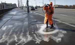 Κορονοϊός: Η Ρωσία απέχει από την επιπεδοποιήση της καμπύλης και την κορύφωση της πανδημίας