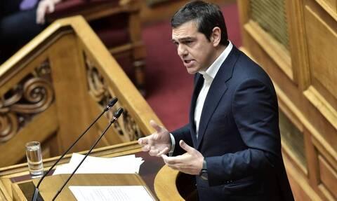 Live η ομιλία του Αλέξη Τσίπρα στη Βουλή