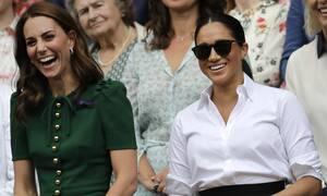 Η Kate Middleton μιμήθηκε την πρόσφατη εμφάνιση της Meghan Markle μέχρι τρίχας! (photos)