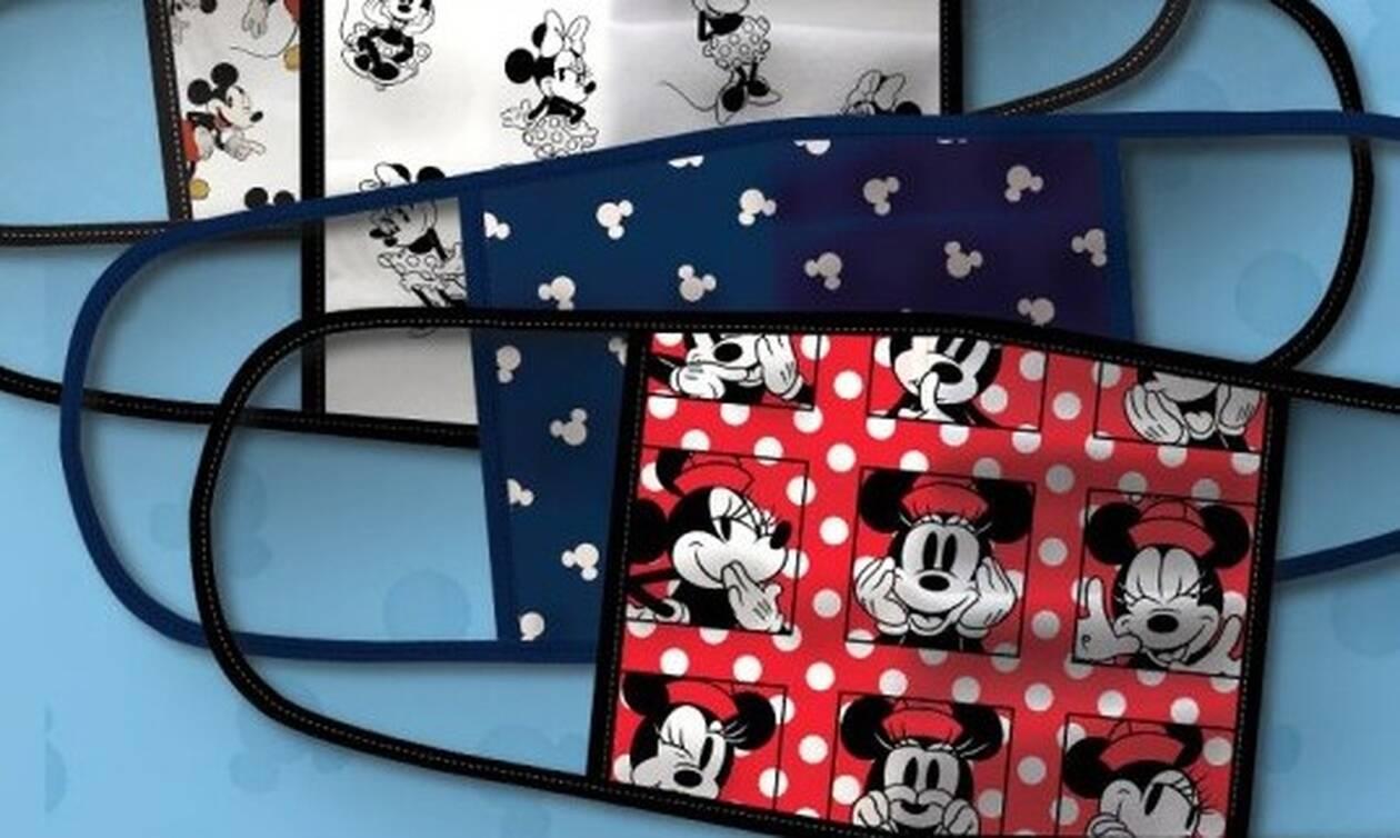 Κορονοϊός: Η Disney λανσάρει μάσκες με αγαπημένους ήρωες και δωρίζει 1 εκατ. δολάρια από τα έσοδα