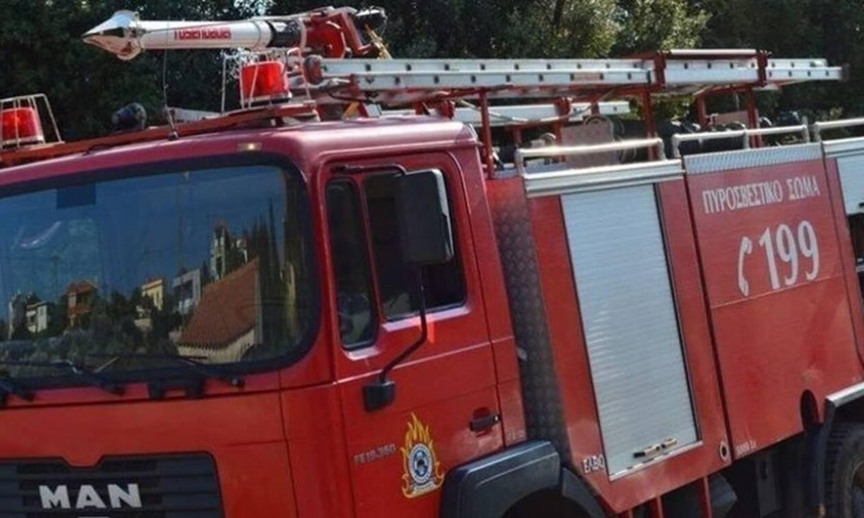 Συναγερμός στην Εθνική Οδό: Νταλίκα τυλίχθηκε στις φλόγες - Εντυπωσιακές εικόνες