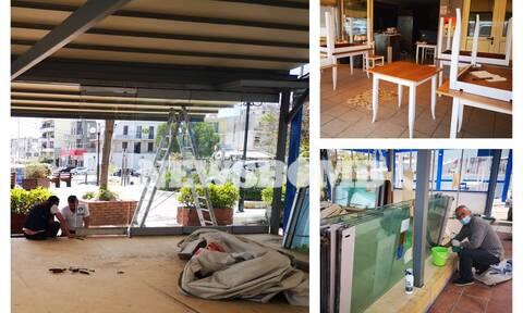 Ρεπορτάζ Newsbomb.gr: Έτσι θα είναι πλέον καφέ και εστιατόρια - Πυρετώδεις προετοιμασίες