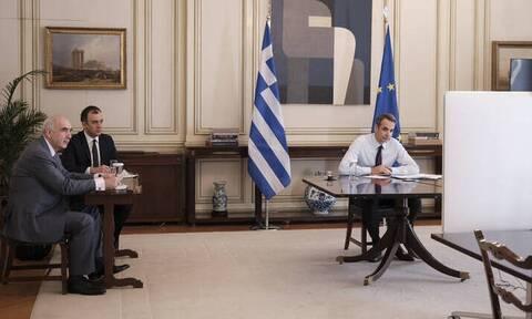 Μήνυμα Μητσοτάκη στην Αλβανία για την ελληνική μειονότητα στην τηλεδιάσκεψη κορυφής του ΕΛΚ