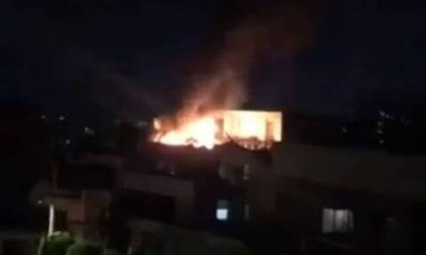 Φωτιά σε διαμέρισμα στου Παπάγου