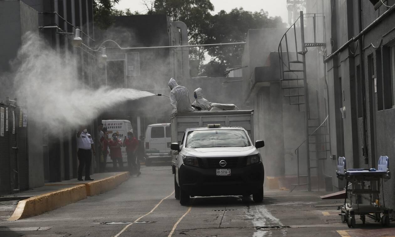Κορονοϊός στο Μεξικό: Ξεπέρασαν τους 2.700 οι νεκροί