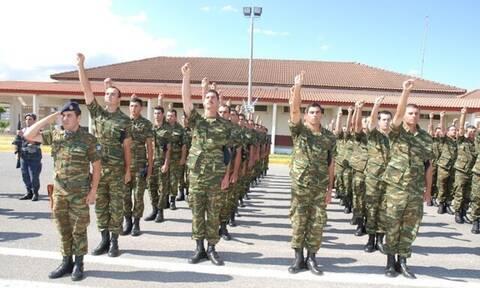 Στρατός Ξηράς: Από τις 9 έως τις 12 Ιουνίου η κατάταξη των στρατεύσιμων