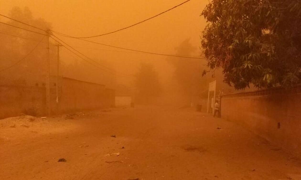 Calima: Εικόνες Αποκάλυψης στο Νίγηρα - Αμμοθύελλα «κατάπιε» ολόκληρη πόλη