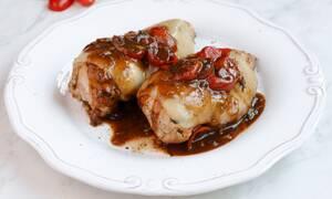 Η συνταγή της ημέρας: Κοτόπουλο caprese