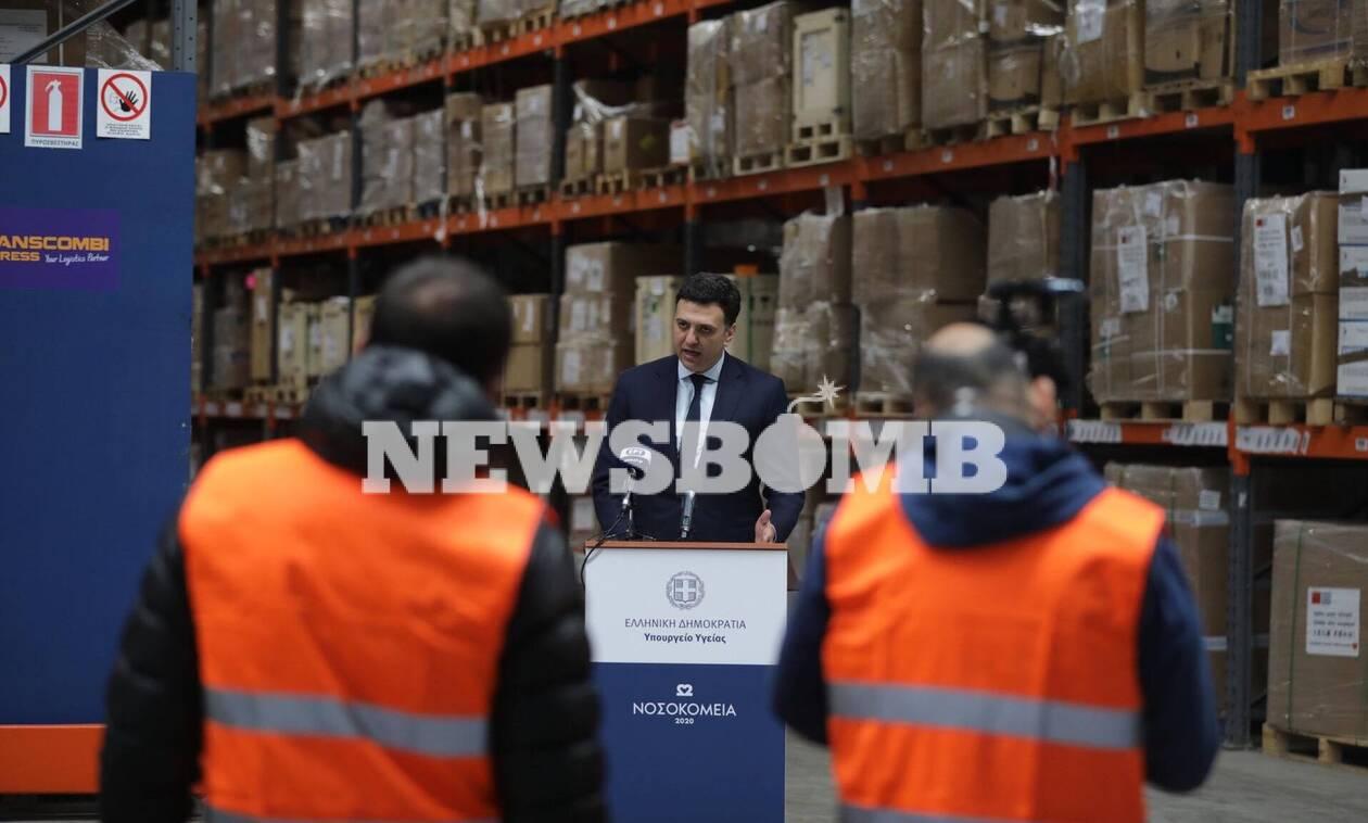Κορονοϊός: Κικίλιας - Οι δωρεές ενίσχυσης του ΕΣΥ έχουν ξεπεράσει τα 89 εκατ. ευρώ