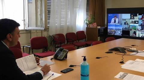 Τηλεδιάσκεψη Κικίλια με θέμα τα εμβόλια για τον κορονοϊό