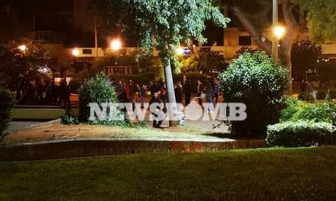 Τo Newsbomb.gr στην Αγία Παρασκευή: Επί ποδός η ΕΛΑΣ για τρίτο βράδυ - Φόβοι για νέο γύρο επεισοδίων