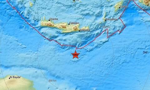 Νέος σεισμός νότια της Κρήτης (pics)