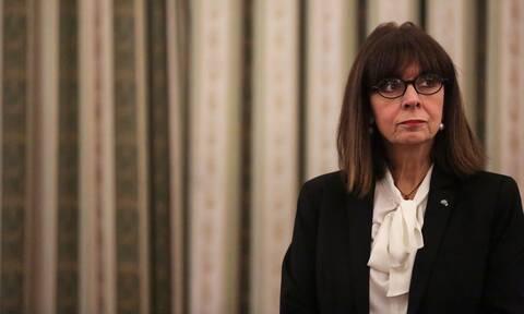 Κατερίνα Σακελλαροπούλου: Το μήνυμα της ΠτΔ για τον θάνατο του Δημήτρη Κρεμαστινού