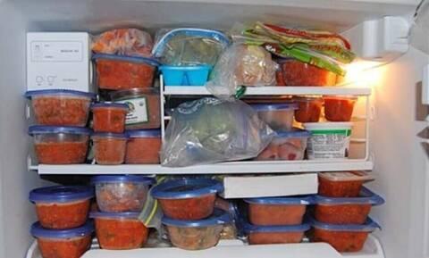 Πόσο χρόνο μπορείς να αφήσεις τα τρόφιμα στην κατάψυξη