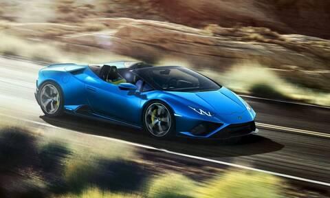 Lamborghini Huracan EVO Spyder: Με 610 ίππους και κίνηση μόνο πίσω