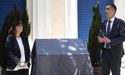 Marfin: Η στιγμή που δάκρυσε η Σακελλαροπούλου - Τα συγκινητικά της λόγια