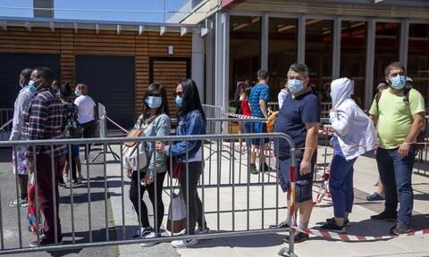 Κορονοϊός - Ελβετία: Πάνω από 1.000 άνθρωποι στήθηκαν στην ουρά για να λάβουν πακέτα τροφίμων
