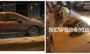 Ακόμη μία άγρια νύχτα επεισοδίων στην Κυψέλη: Έσπασαν βιτρίνες και πέταξαν μολότοφ σε αστυνομικούς