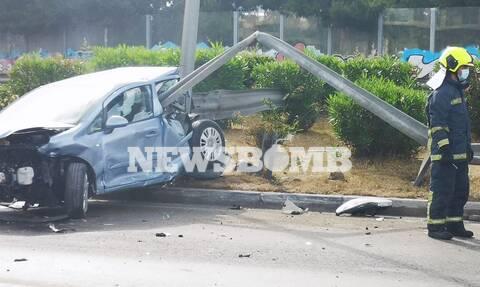 Τροχαίο ατύχημα στην Ε.Ο Αθηνών-Λαμίας - Ουρές χιλιομέτρων
