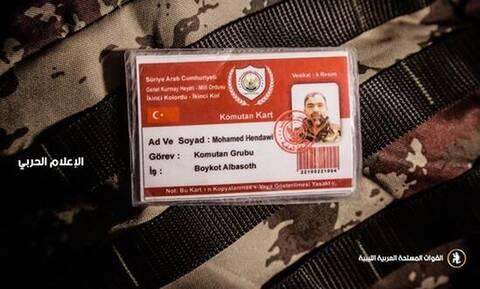 Λιβύη: Ο LNA «εξουδετέρωσε» τον διοικητή των Σύρων μισθοφόρων που έστειλε η Τουρκία