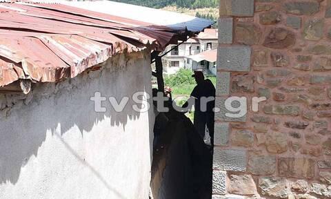 Τραγωδία στο Καρπενήσι: Τοίχος υποχώρησε και καταπλάκωσε άνδρα (vid & pics)