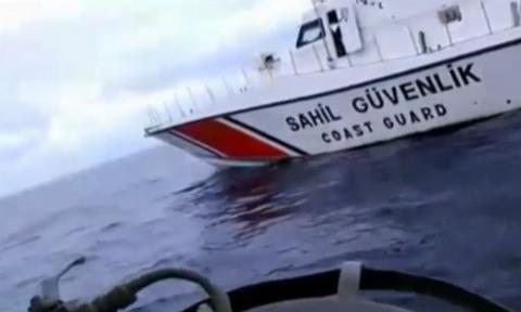 Βίντεο - ντοκουμέντο: Τουρκική ακταιωρός παρενόχλησε ψαράδες ανοιχτά της Μυτιλήνης