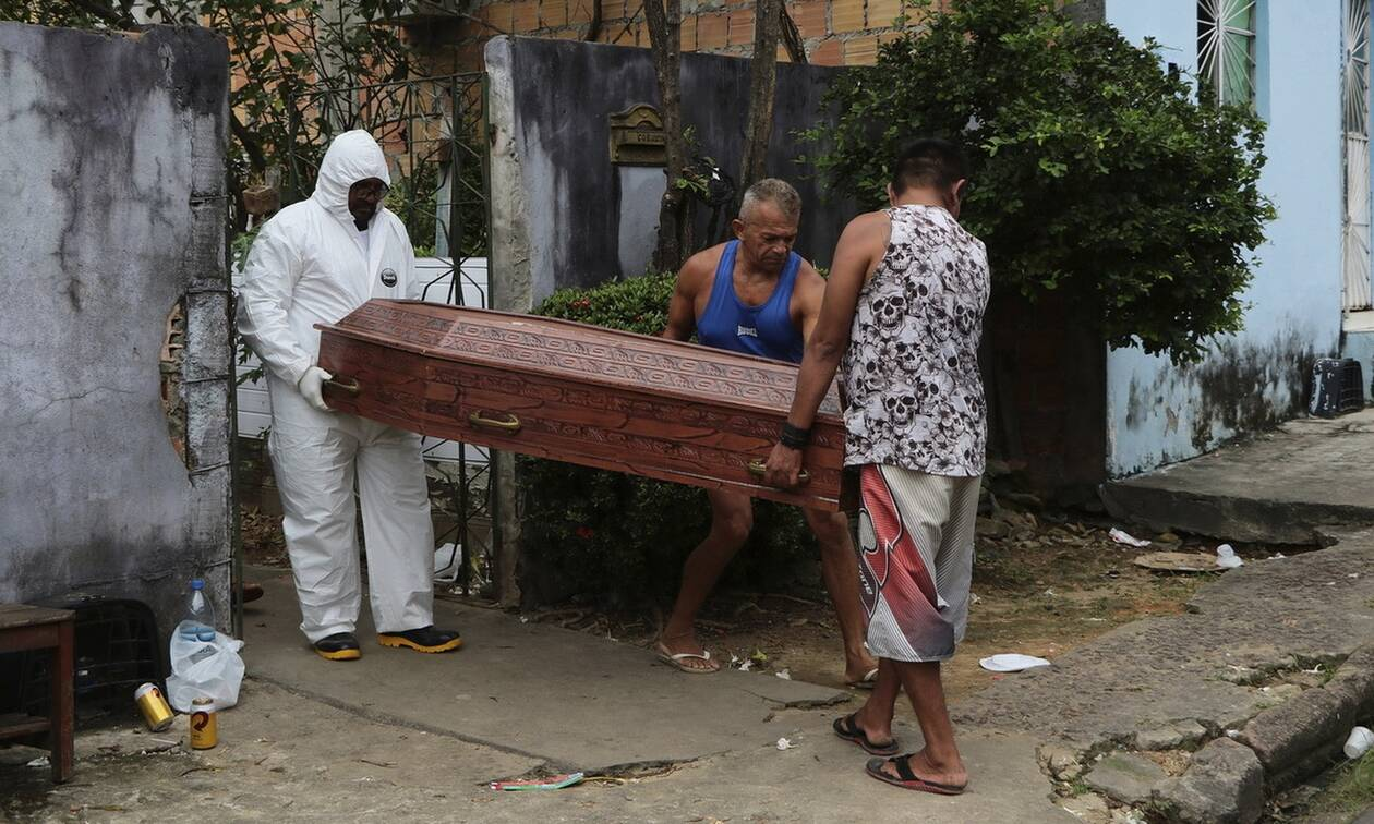 Κορονοϊός στη Βραζιλία: 396 νέοι θάνατοι και 5.632 κρούσματα μόλυνσης σε 24 ώρες
