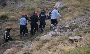 Θεσσαλονίκη: Έπεσε στο γκρεμό με το αυτοκίνητό του, αλλά δεν επιχείρησε να αυτοκτονήσει