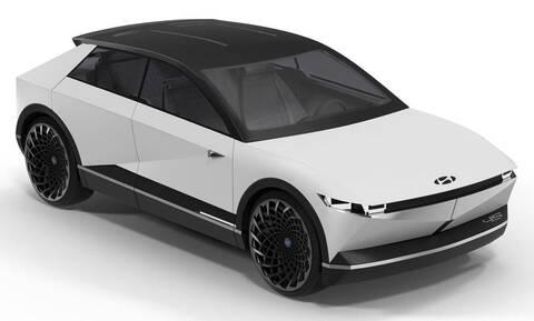 Το νέο ηλεκτρικό Hyundai 45 δοκιμάζεται ήδη στους δρόμους - Θα είναι έτοιμο το 2021