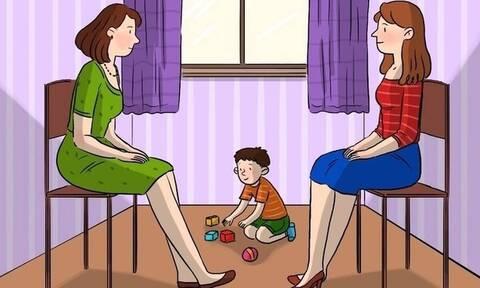 Κουίζ για δυνατά μυαλά: Ποια είναι η μητέρα του παιδιού; (photos)